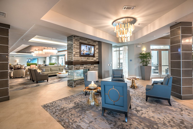 Modern Communal Area Senior Living Design Senior Living Facilities Assisted Living Decor