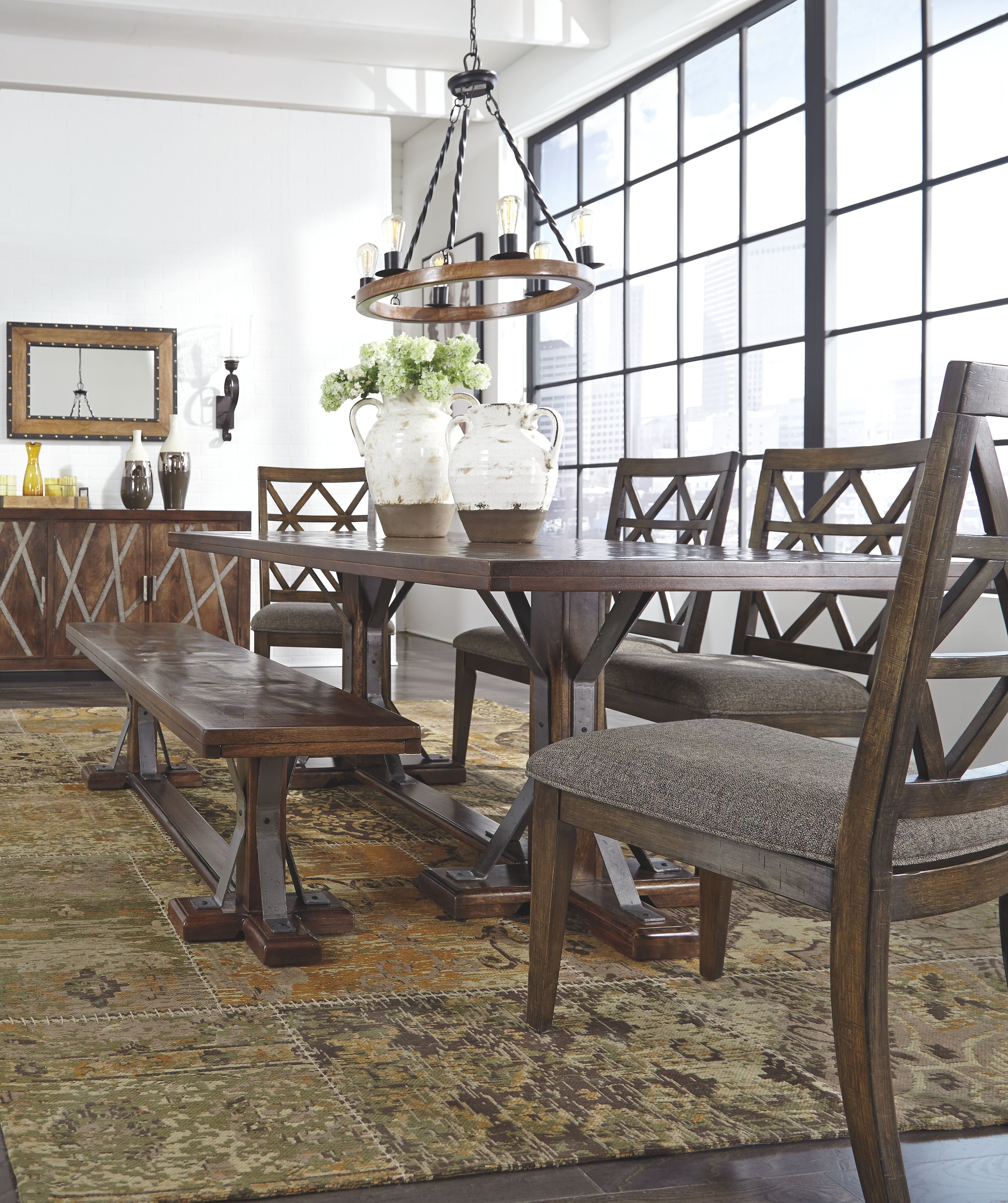 Devasheen Dining Room Chair Set Of 2 Brown Dining Room Bench