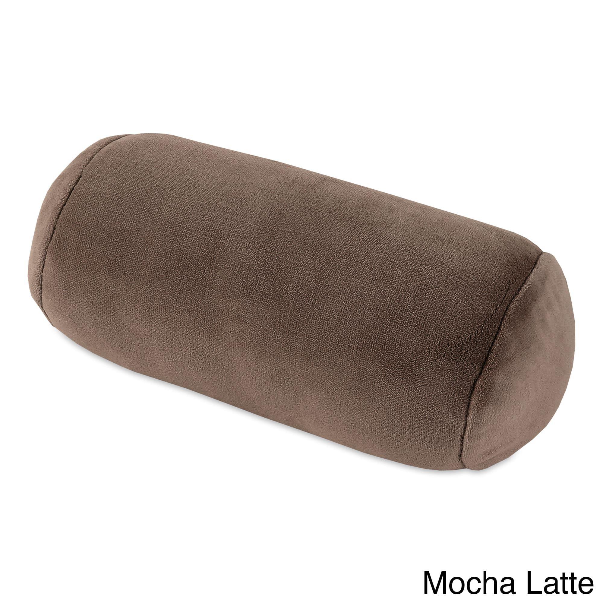 Serasoft Bolster Neckroll Pillow (Navy