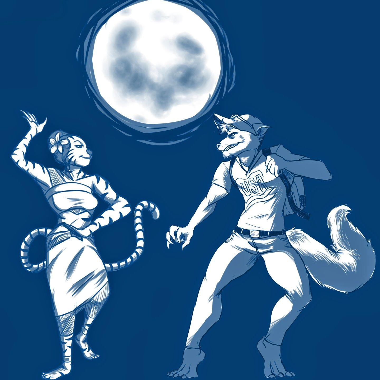 Werewolf vs weretiger - photo#53