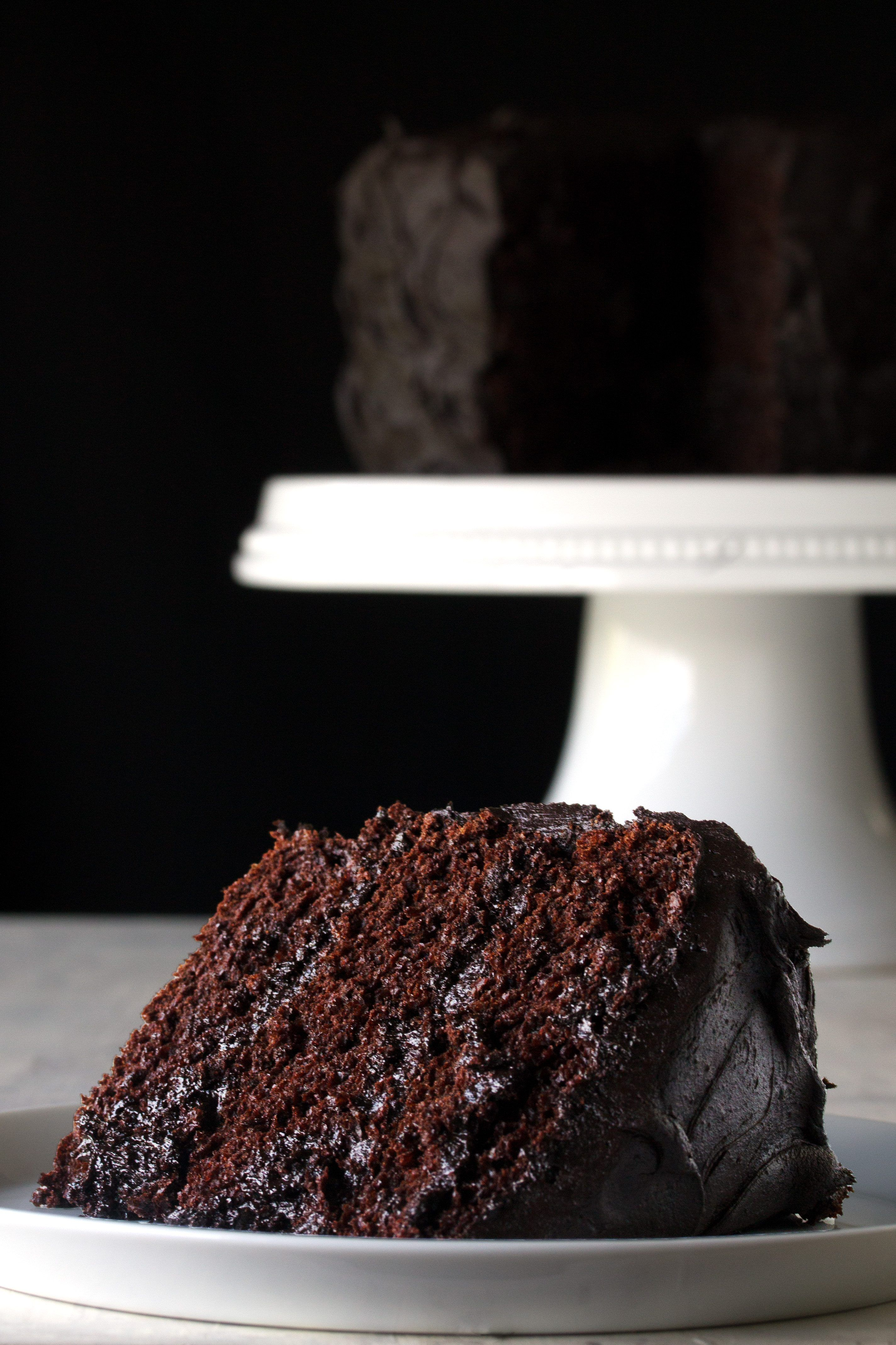 Super Moist Choclate Cake With Cream Filling