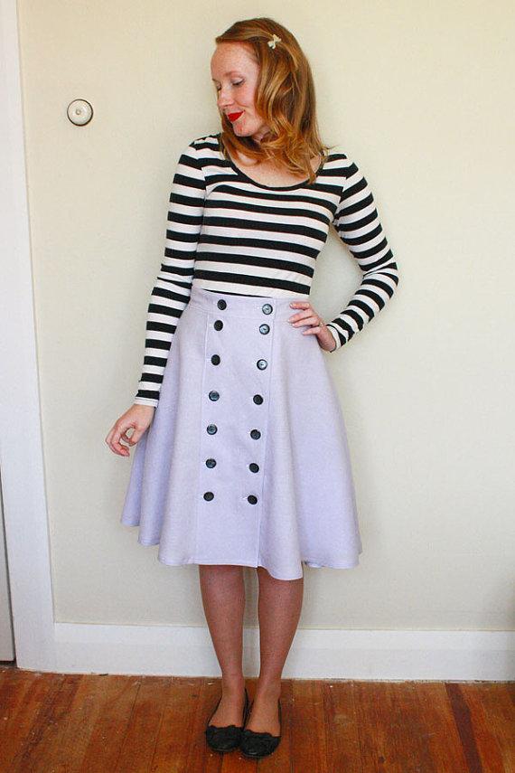 Cressida Skirt Ladies PDF Sewing Pattern Multi Size 6 to 20 | Repro ...
