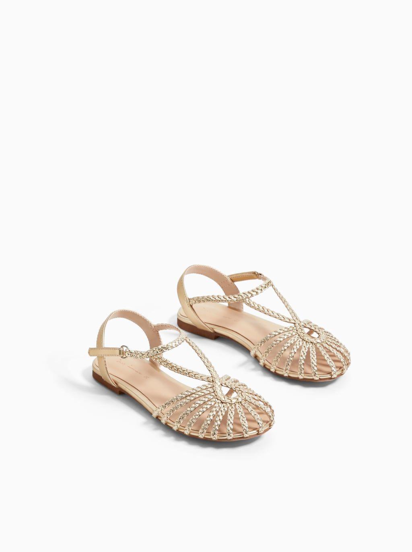 1b90244c6b4 WOVEN FISHERMAN SANDALS from Zara | kids' accessories | Sandals ...