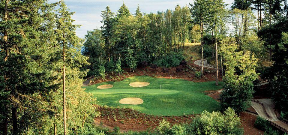 The Oregon Golf Club West Linn, Oregon So beautiful but
