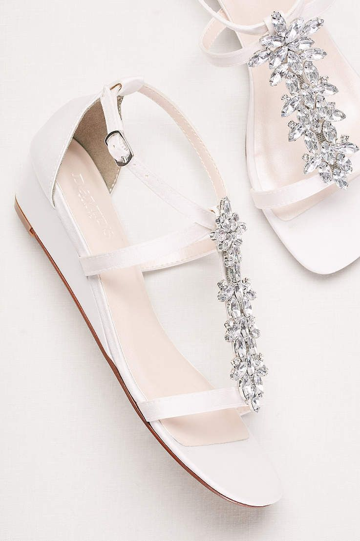 ec390cc0f30dec Complete your bridal look with the perfect wedding shoes at David s Bridal.  Our bridal shoes include wedding   bridesmaid shoes in various styles    colors.
