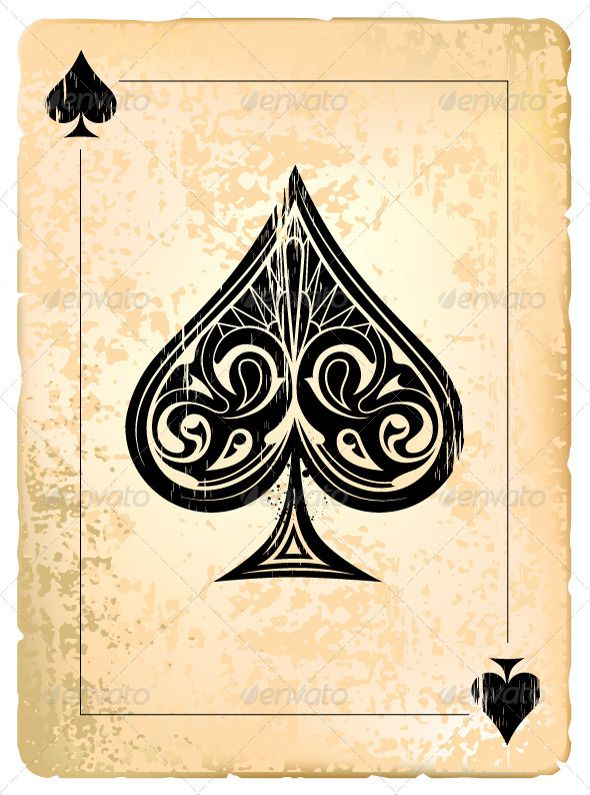 Ace of Spades | Tattoo and Playing cards