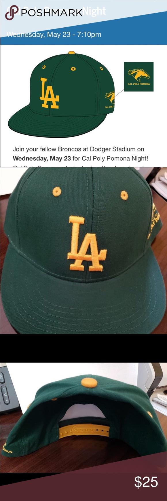 7f29755e88ea50 Cal Poly Pomona Dodger hat Cal Poly Pomona Night at Dodger stadium  Accessories Hats