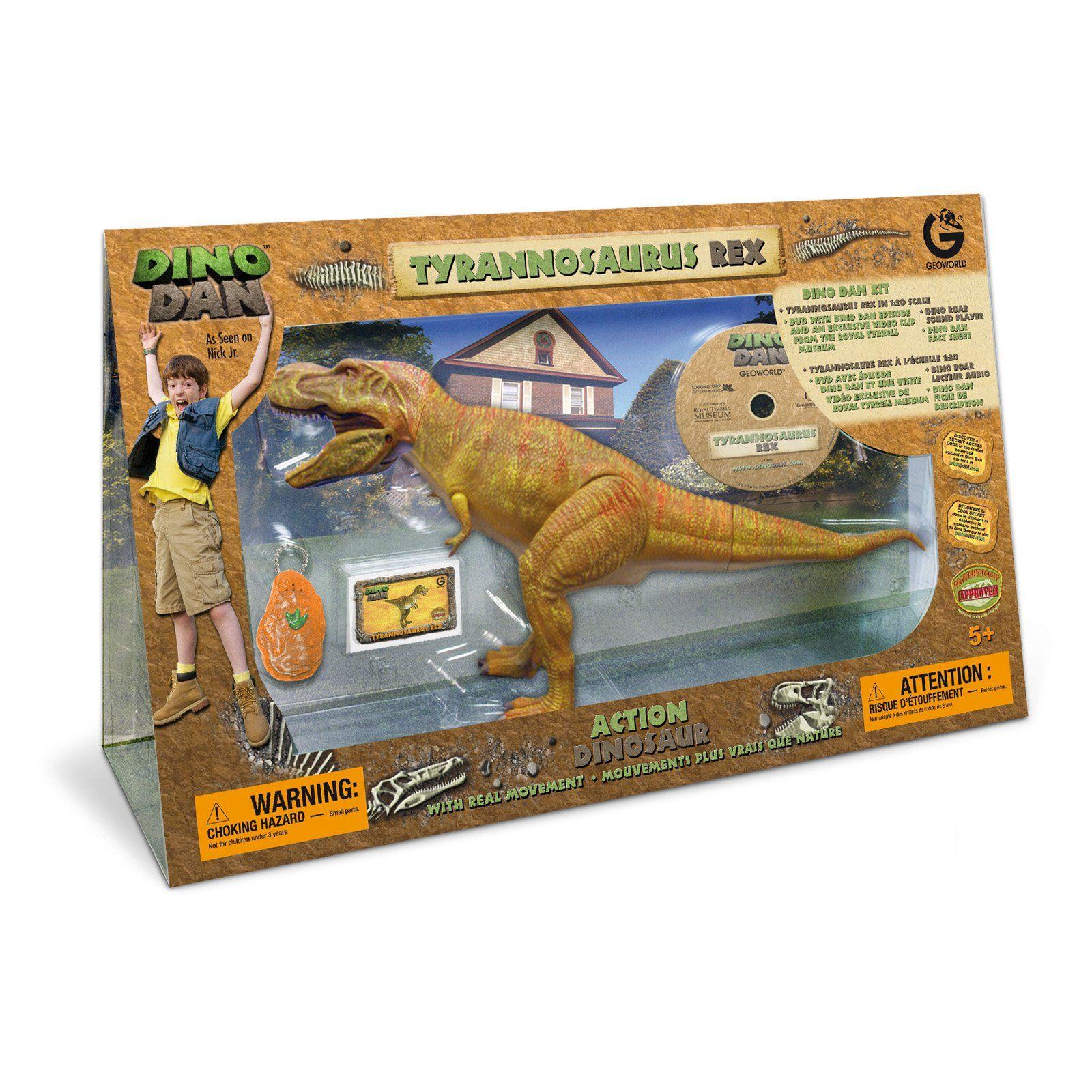 WHOA! Dino Dan Extra Large T-REX Figure | Braxton