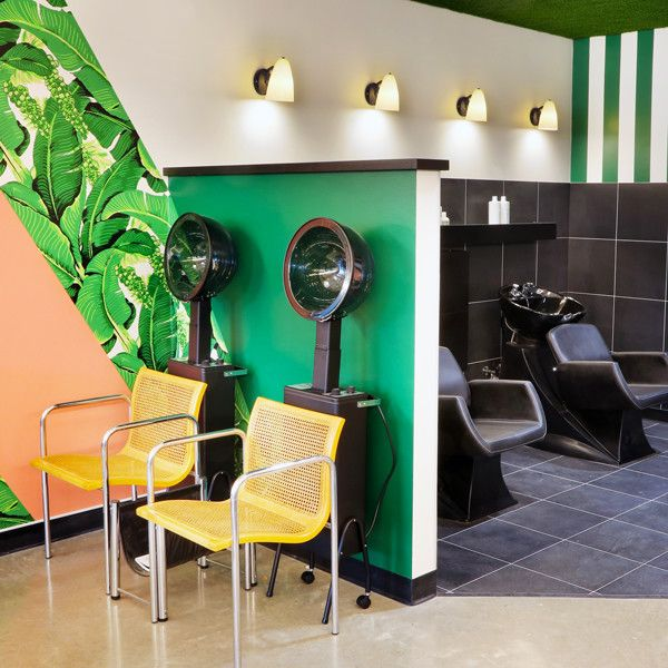 Top Hair Salons With The Coolest Interiors Retro Interior Design Salon Interior Top Hair Salon