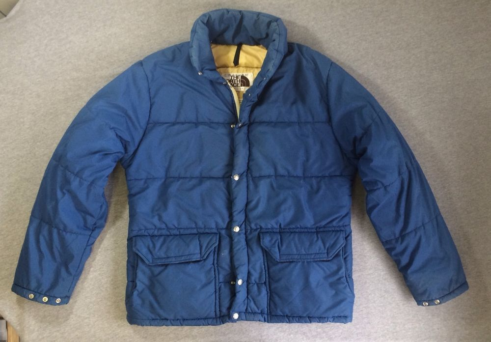 cdd55b131 Details about Vintage The North Face Brown Label Puffer Jacket Coat ...