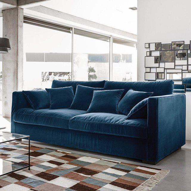 image canap fixe n o kinkajou toile lin froiss bultex. Black Bedroom Furniture Sets. Home Design Ideas