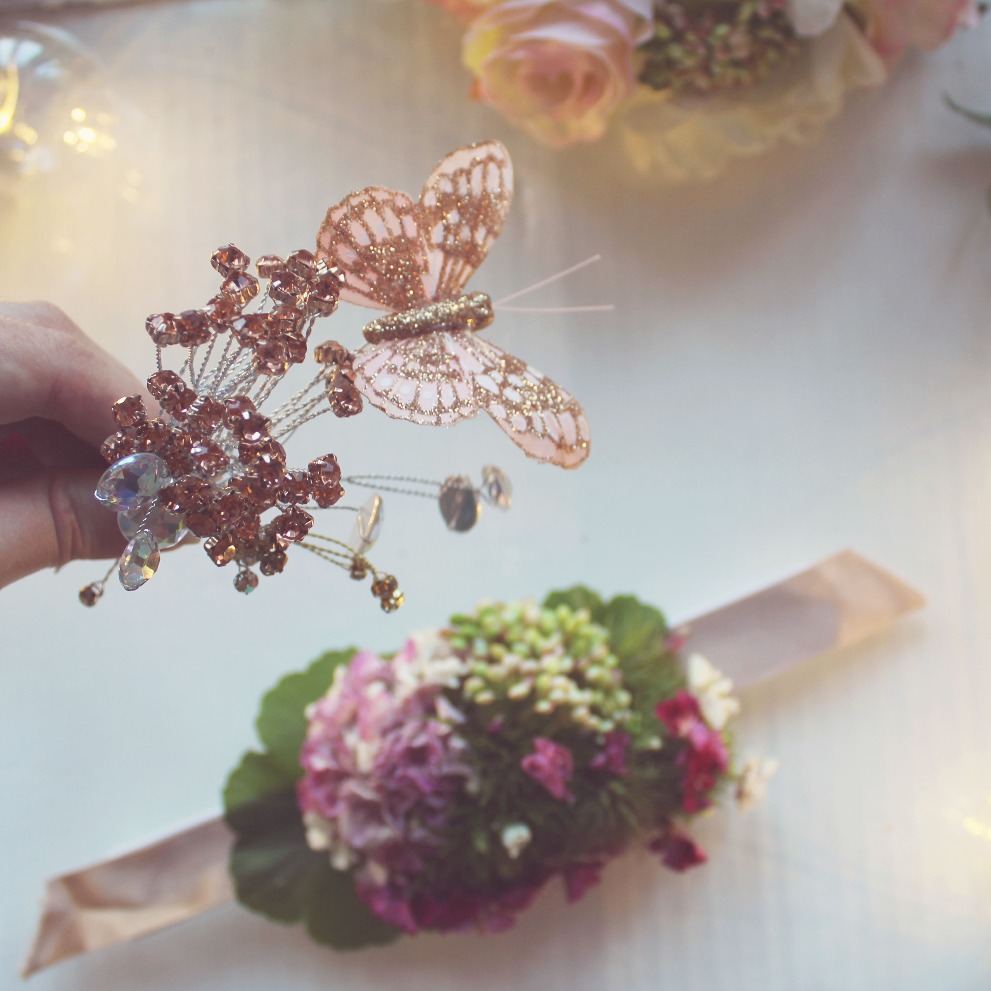 We're specialists in wearable flowers - our tools and accessories make it easy to create beautiful designs from flower crowns to flowers in hair, flower bracelets, floral jewellery, buttonholes, flower cuffs and more. Wear to garden parties, photo ops, all kinds of celebrations.  #flowercraft#flowercrown#flowercuff#floraljewellery#flowerjewellery#floralnecklace#floralaccessories#bohostylejewelry#diyjewelry#flowercomb#etsymakers#flowerbracelet#hairflowers#flowersinhair#flowersinmyhair#corsage