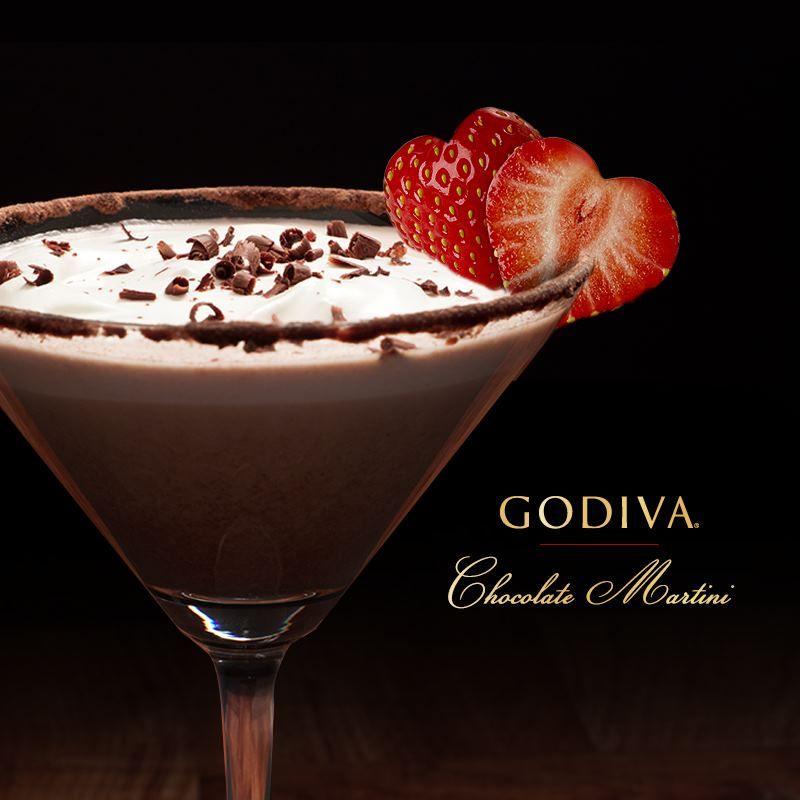 GODIVA Chocolate Martini :: 0.75 Oz. GODIVA® Chocolate