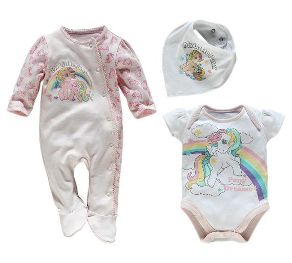 buy my little pony pink 3 piece baby gift set 0 3 months at argos