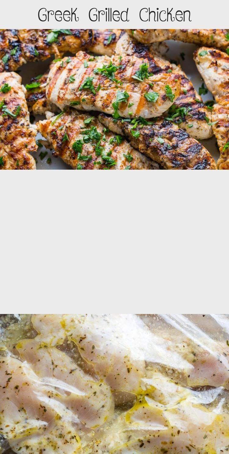 Photo of Greek Grilled Chicken – Recipe