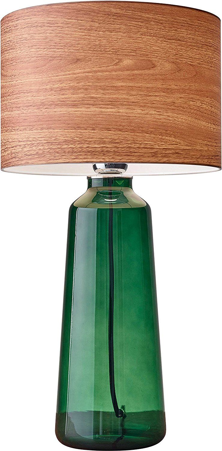 Amazon Com Adesso 6029 05 Jade 22 Tall Table Lamp Green Smart Outlet Compatible Home Improvement With Images Tall Table Lamps Green Lamp Table Lamp