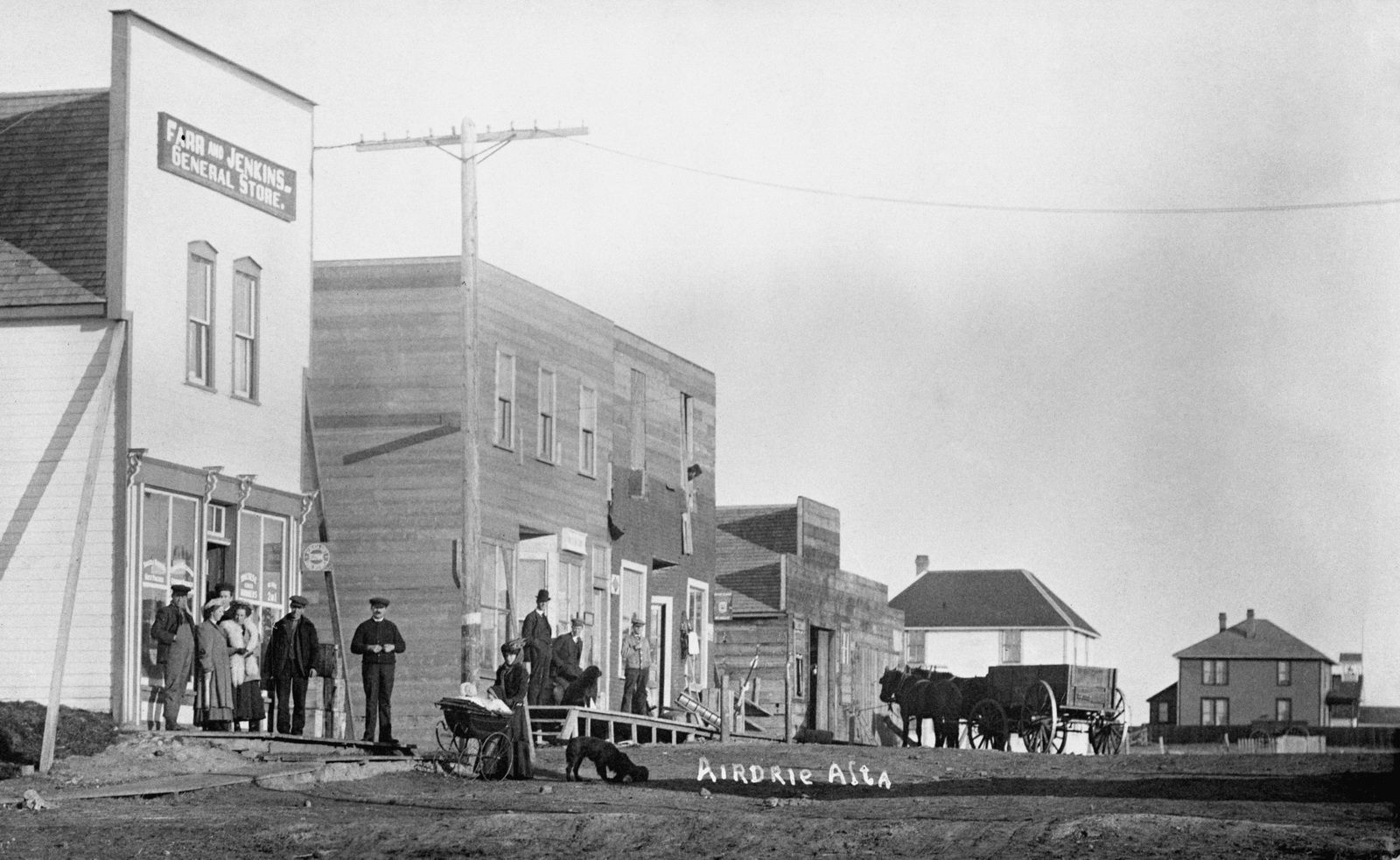 Historical Photos Photographs Of Airdrie Canada History