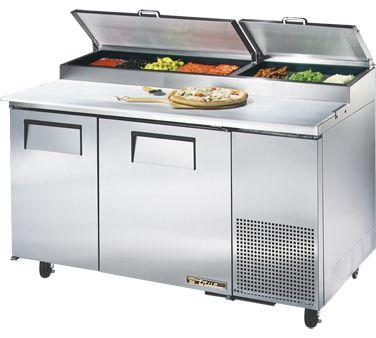true pizza prep refrigerator 15 9 pizza prep 15 9 33 41 f pan rail s s. Black Bedroom Furniture Sets. Home Design Ideas