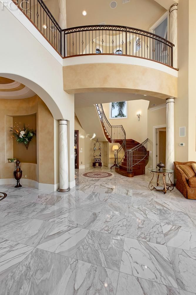 Love The Open Balcony And The Marble Floors For A Florida House