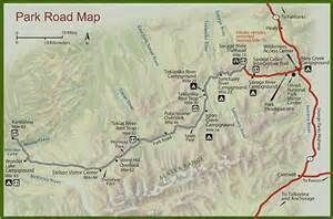 denali national park map - Bing Images