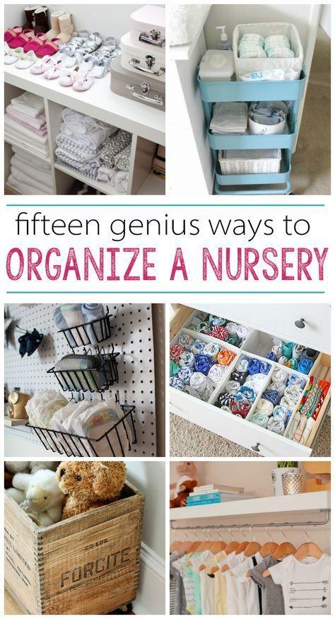 15 Nursery Organization Ideas Organize Diy Organization Baby