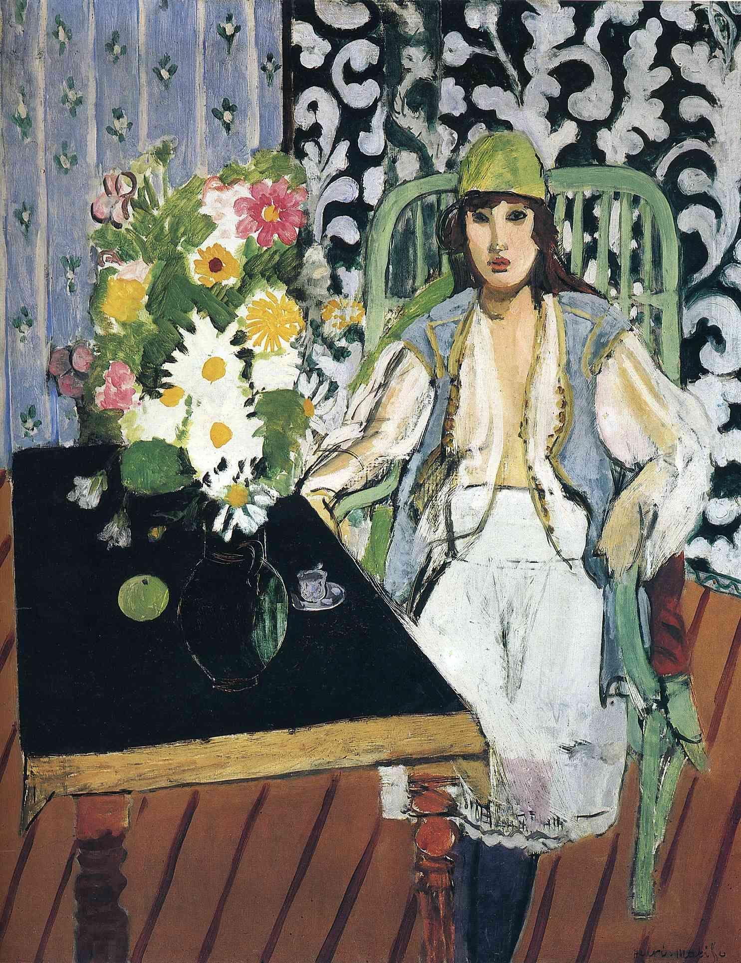 Henri Matisse - The Black Table 1919