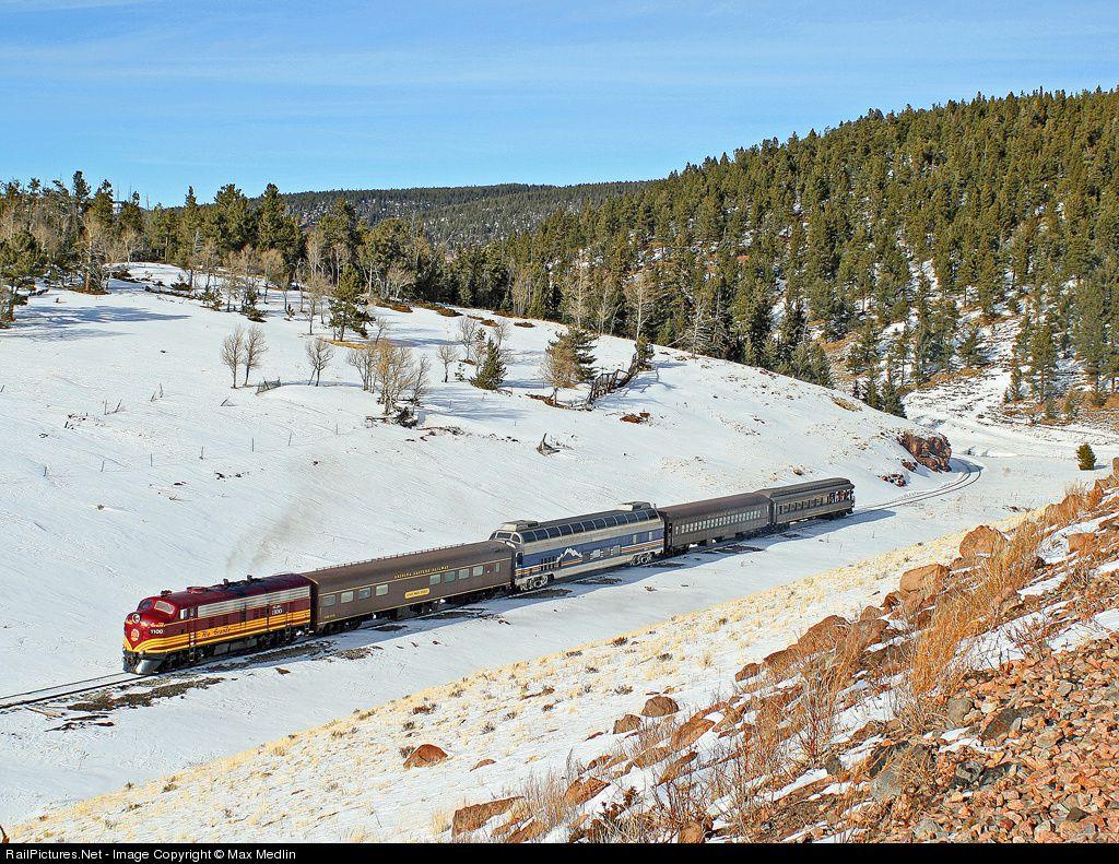 RailPictures.Net Photo: SLRG 1100 San Luis & Rio Grande FP10 at Fir, Colorado by Max Medlin