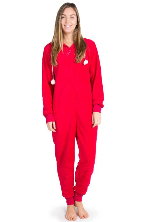 0a3befcb28 Ladies Plus Size Coral Fleece Hooded Christmas Costume Onesie Winter Warm  Christmas Party Clothes Pajama Onesie For Women(China (Mainland)) Christmas  Onesie