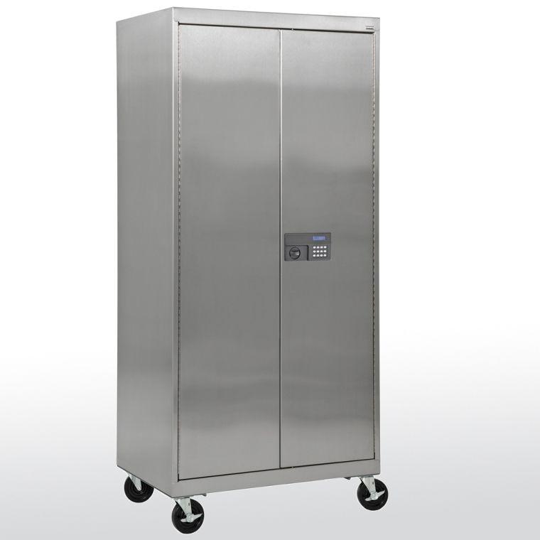 Bathroom Storage Lockable Cabinet