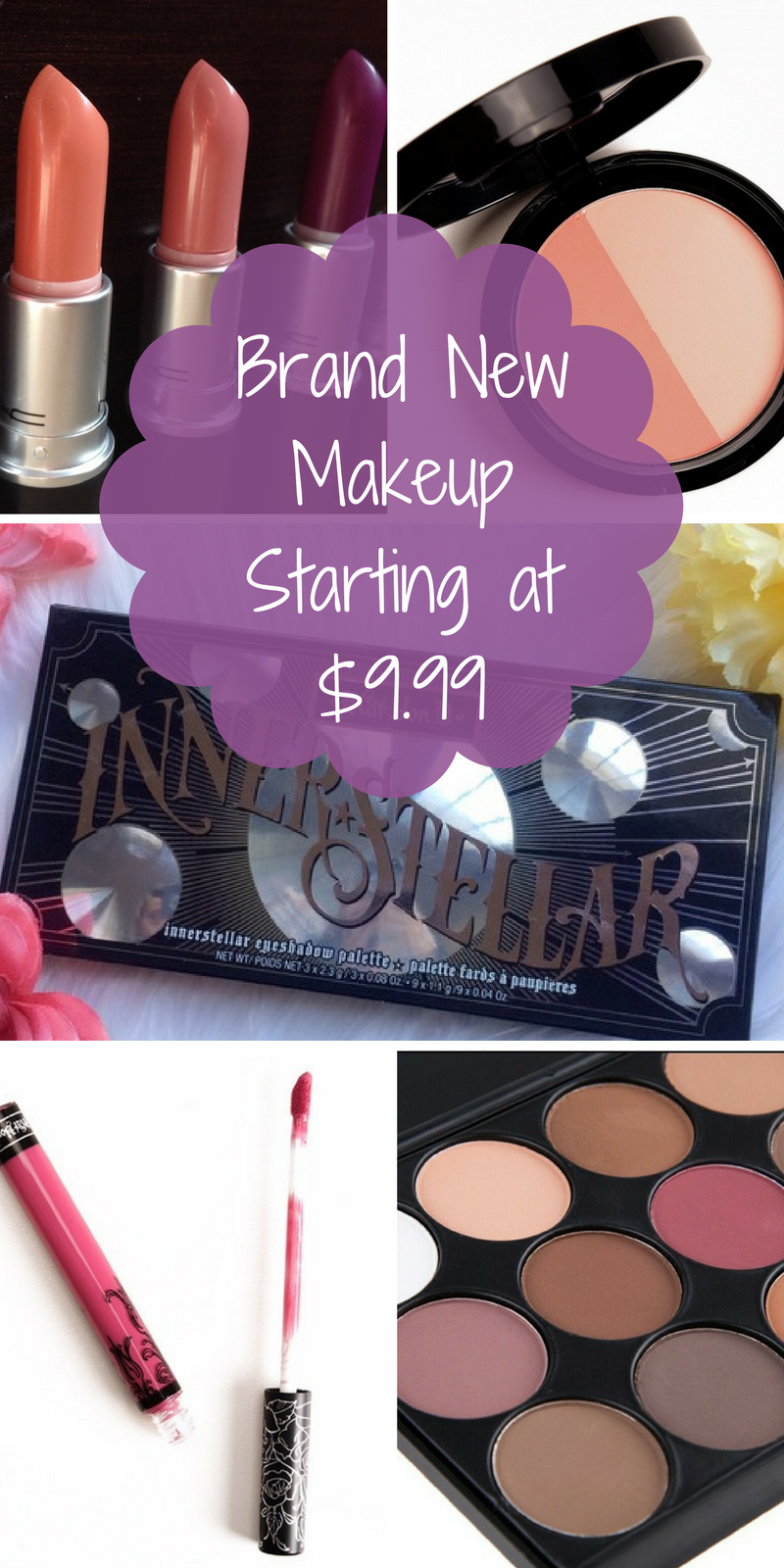 Sale! Shop brand new make up from brands like MAC, Kat Von
