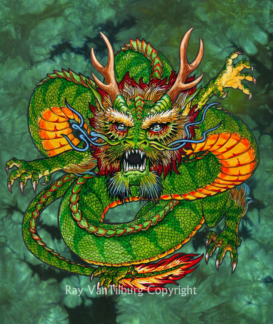 Japanese Dragon Art