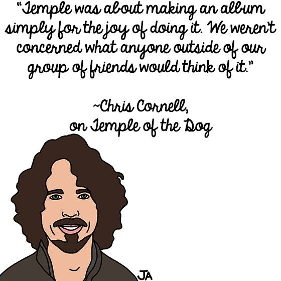 Chris Cornell Reflects On Temple Of The Dog Chris Cornell