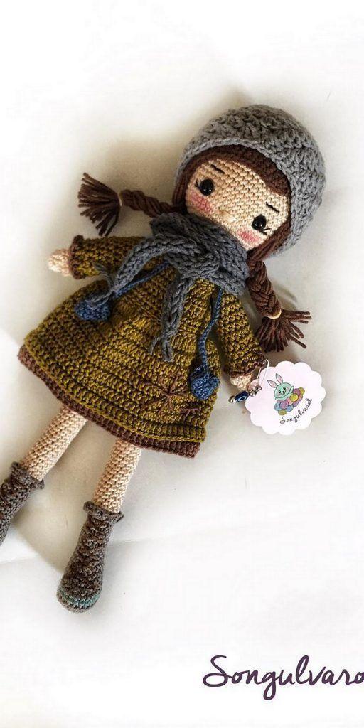 Ravelry: Weebee & Little Weebee - Easy Short Hair pattern by Laura ... | 1024x512
