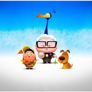 Up Animated Movie Wallpaper Desktop Iphone Pixar Wallpapers Carl And Ellie