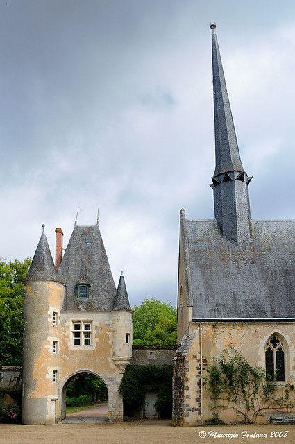 La Verrerie Ingresso Chateau France Les Chateaux De France Et