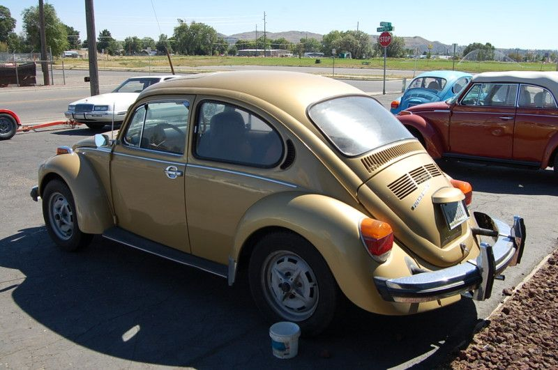 1974 Vw Gold Sunbug This Was My Car In The 70 S Loved It I Still Have The Bug Floor Mats Vw Beetle Classic Antique Cars Vintage Cars