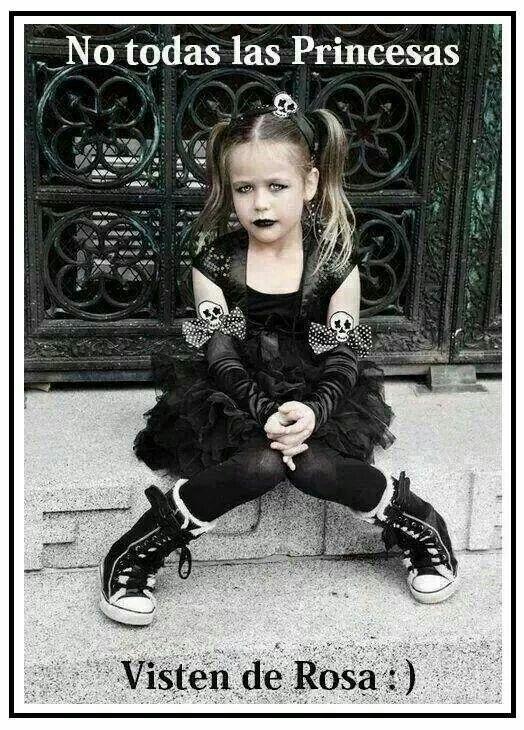 No siempre Disfraz niña rockera, Disfraz de punky, Ropa punk