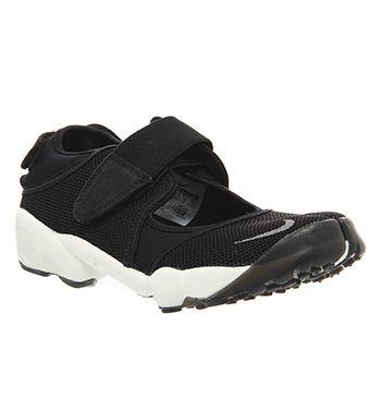 00fd62259949 Nike Air Rift Black Cool Grey - Hers trainers