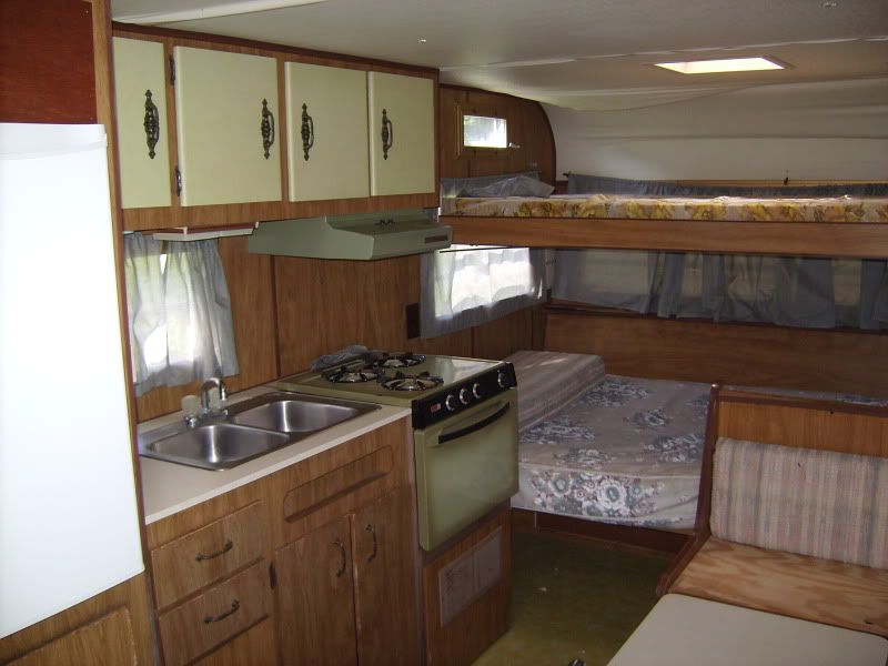 Rv net open roads forum travel trailers 1973 holiday for Rambler kitchen remodel ideas