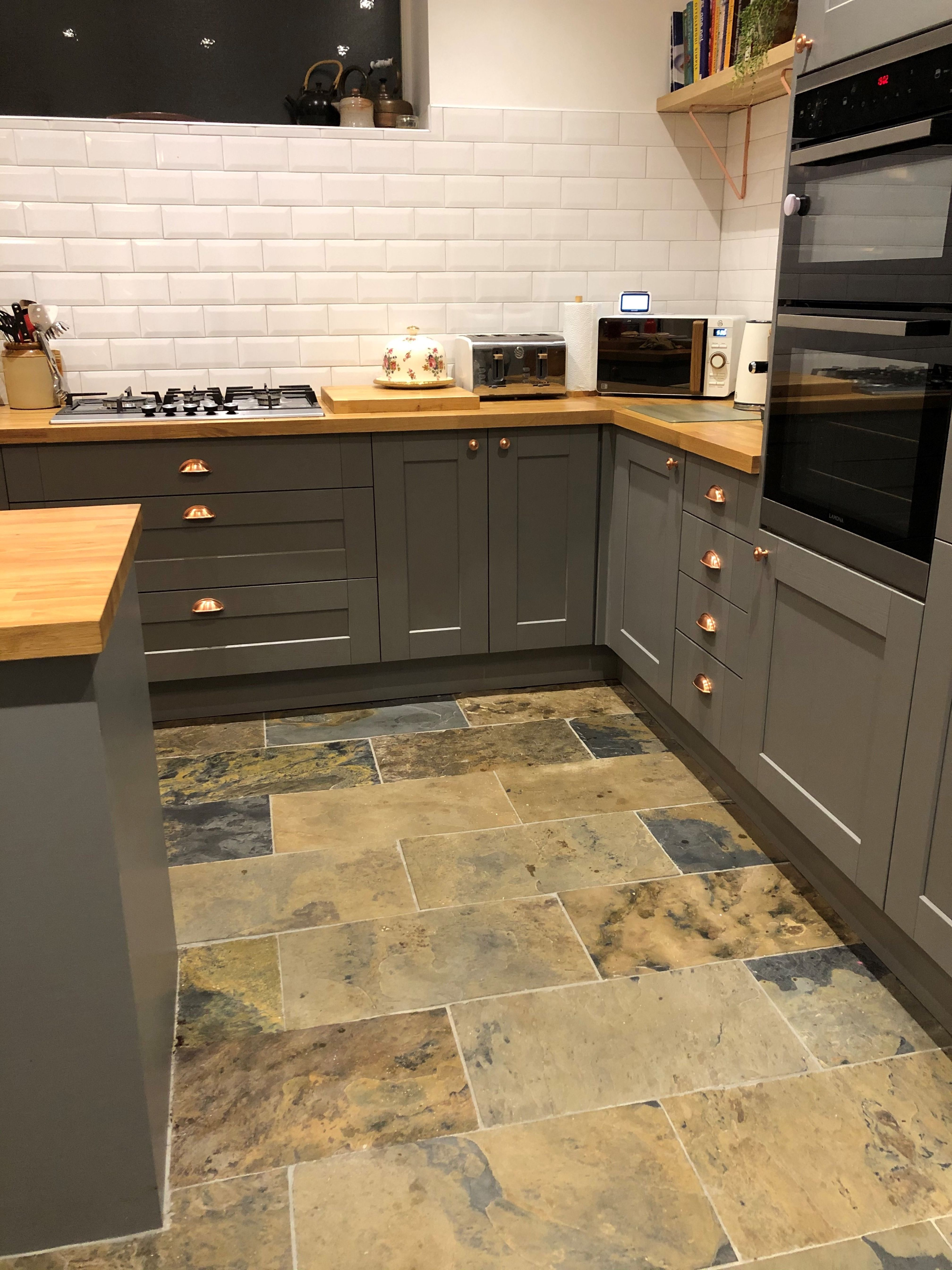 Brushed Multicolour Slate Customer Projects In 2019 Grey