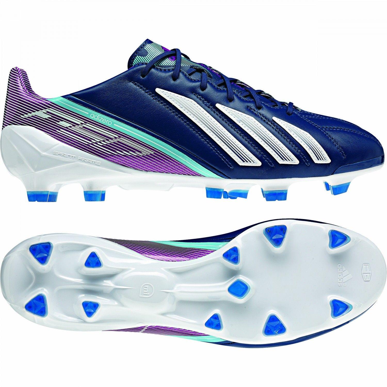 adidas f50 adizero trx fg leder zwart voetbalschoenen
