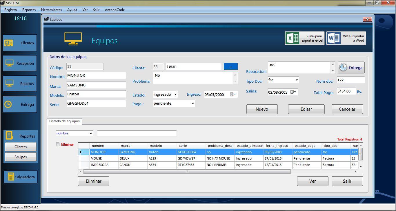 Codigo Fuente Sistema Desarrollado En Visual Basic Net Y Sql Server Software Sistema Operativo Captura De Imagen Programacion Orientada A Objetos