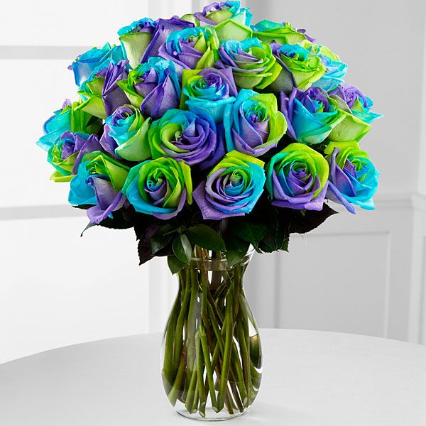 Rainbow Roses Multi Colored Flowers Amp Tie Dye Roses From Ftd