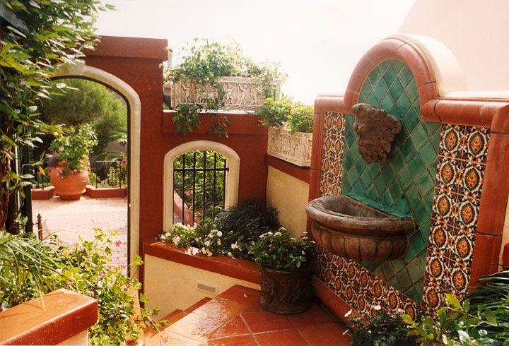 Tuscan Style Backyard Landscaping   Mediterranean ...