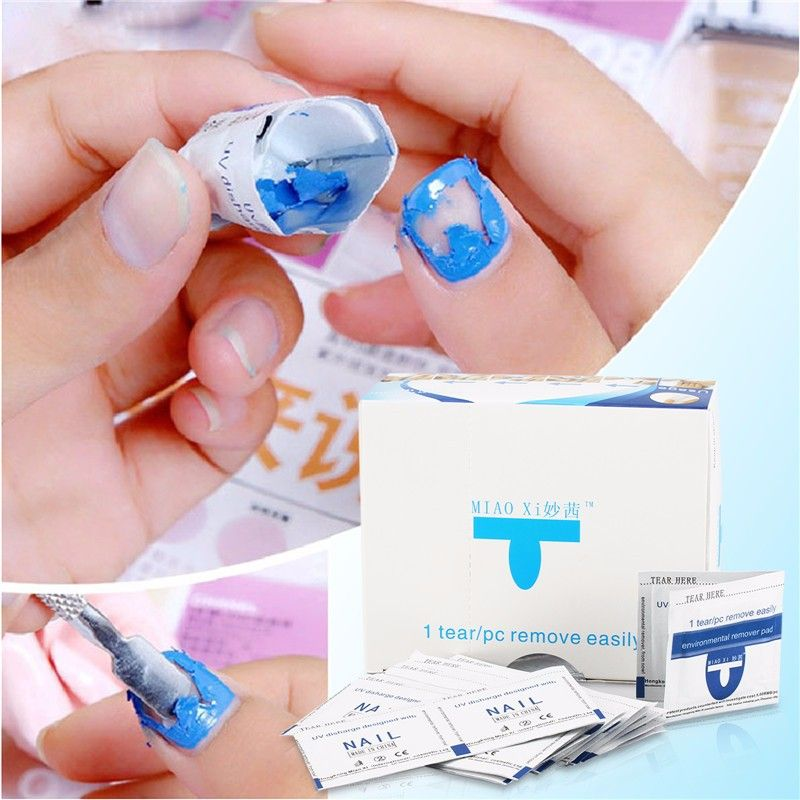 200pcs Set Uv Gel Cleaner Remover Nail Gel Polish Removal Wraps Pads Manicure Tool Nail Wipes Gel Nail Polish A Nail Polish Remover Nail Polish Gel Nail Polish