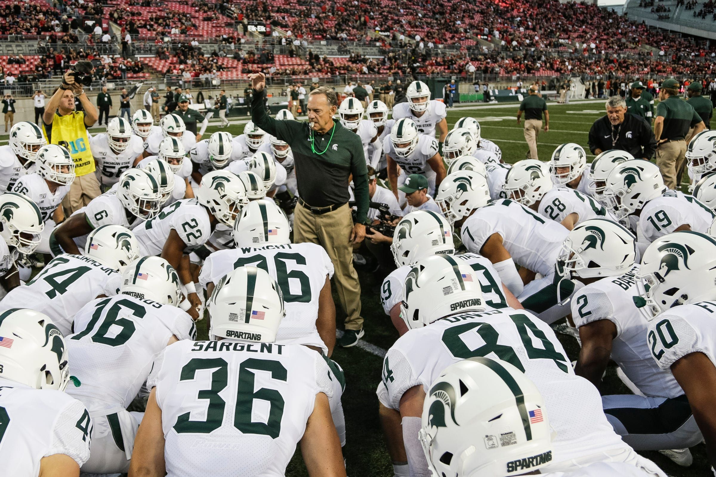 Michigan State News Conference Recap Expecting A Physical One Vs