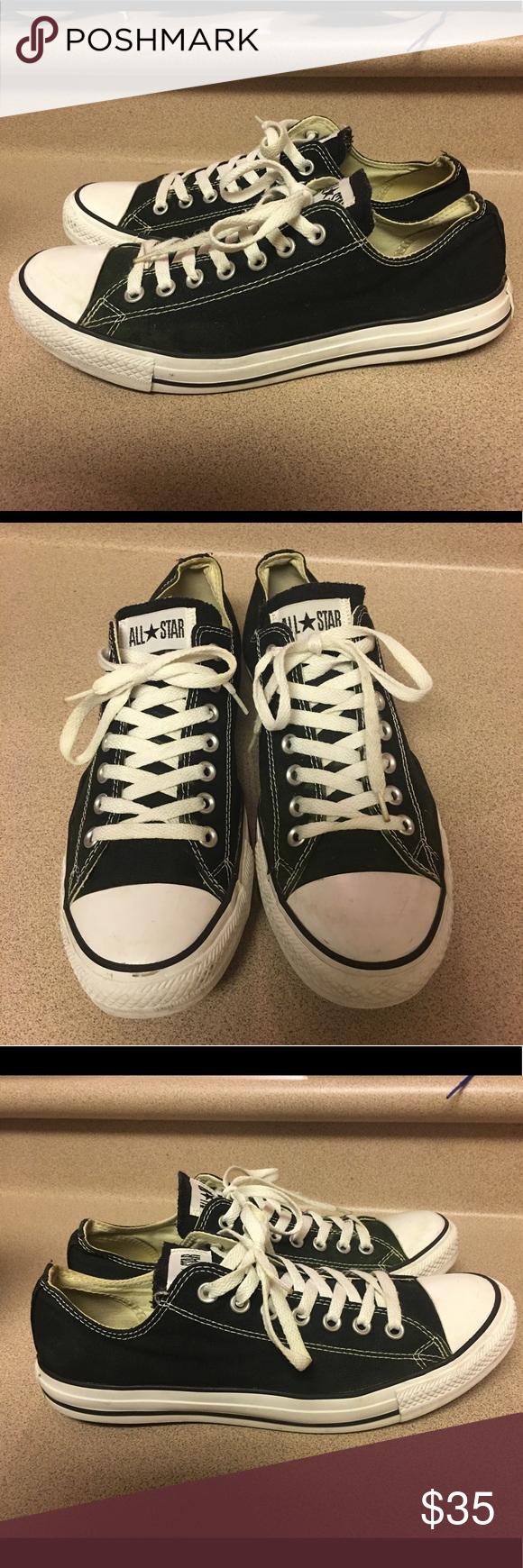 7338b8f76215 EUC Converse Chuck Taylor Mens Size 10 Black EUC Converse Chuck Taylor All  Star Mens Size 10 Ox Shoes Sneakers M9166 Black Converse Shoes Sneakers