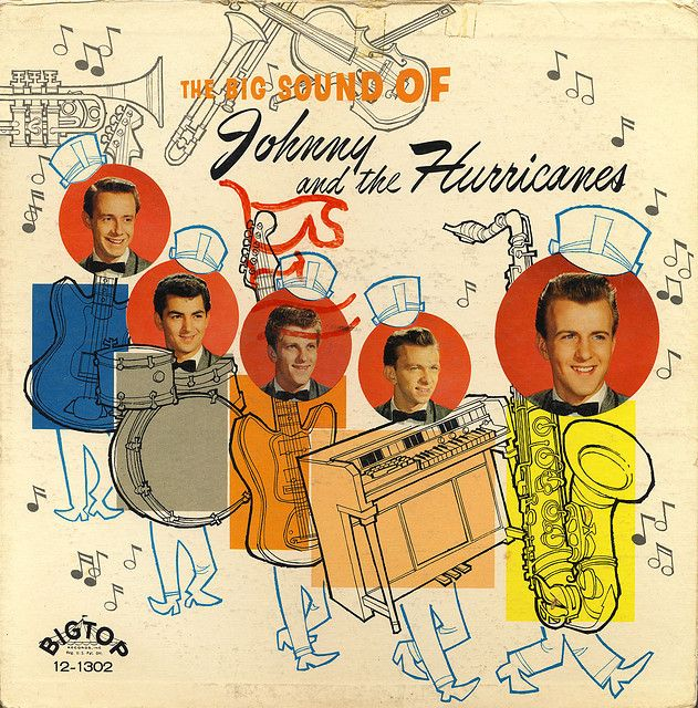 Johnny The Hurricanes The Big Sound Of Johnny And The Hurricanes Vinyl Record Album Covers Worst Album Covers