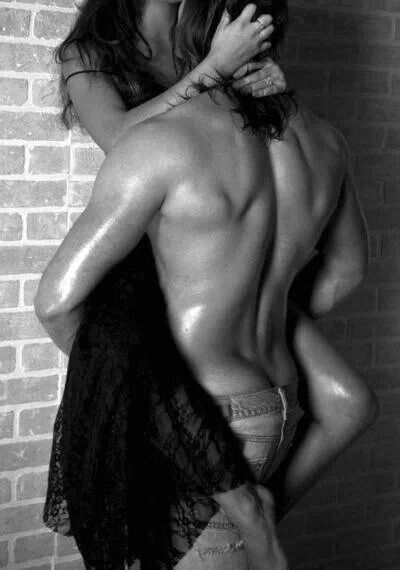 Pin me up against the wall and kiss me like you mean it!