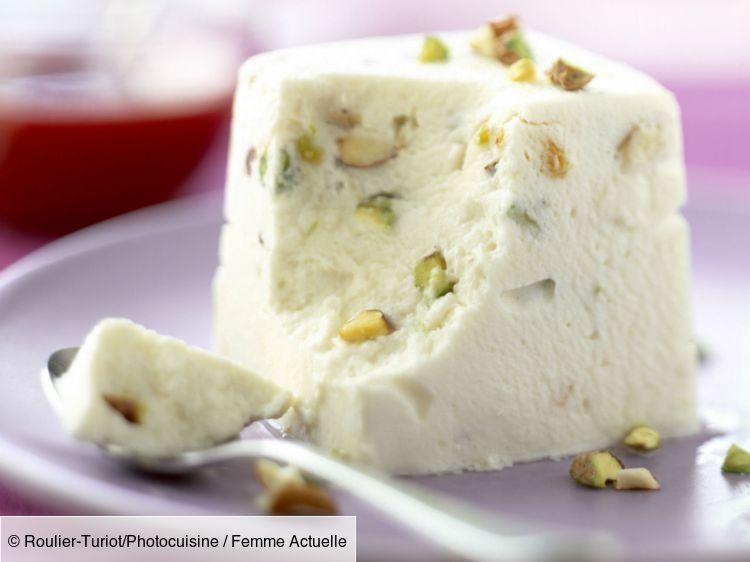 Nougat glacé aux amandes : découvrez les recettes de cuisine de Femme Actuelle Le MAG